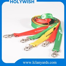 Guangzhou company brand logo ID card holder lanyards