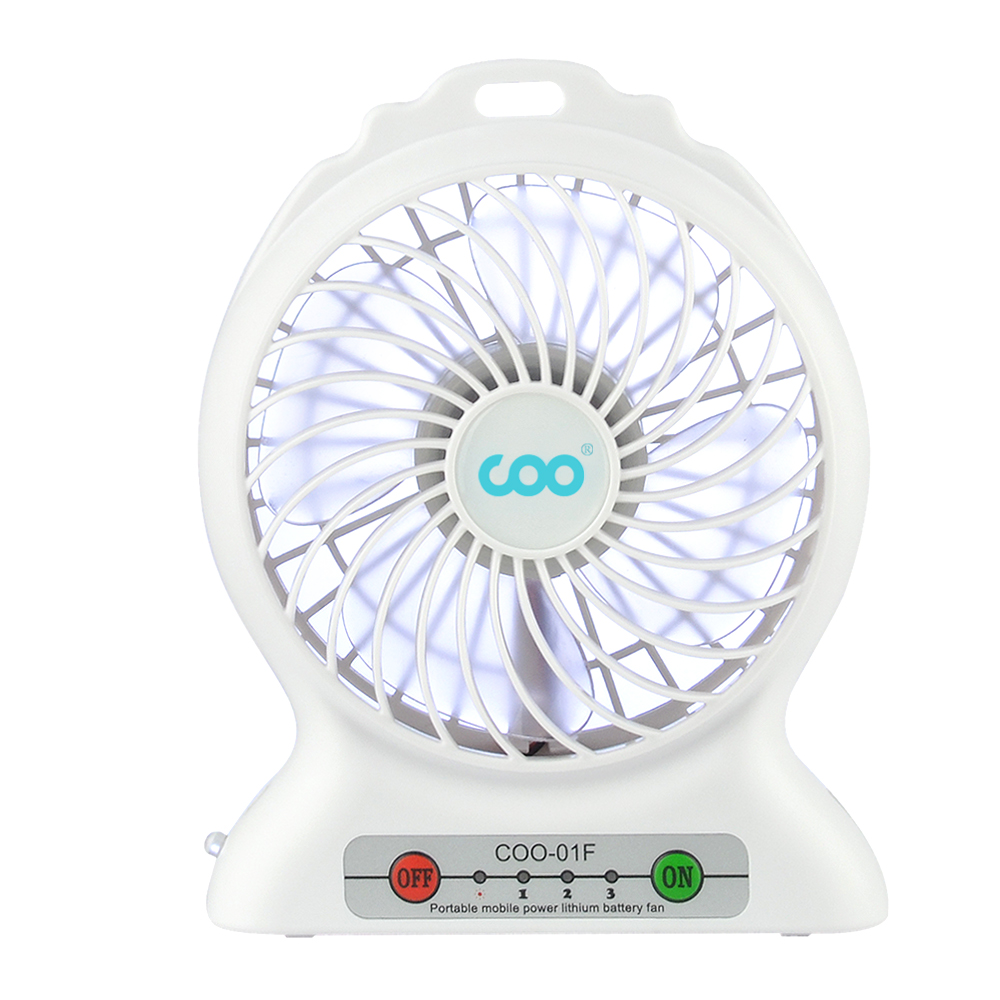 led lighting industrial cooling box fan stand fan for office or car fan rechargeable on sale