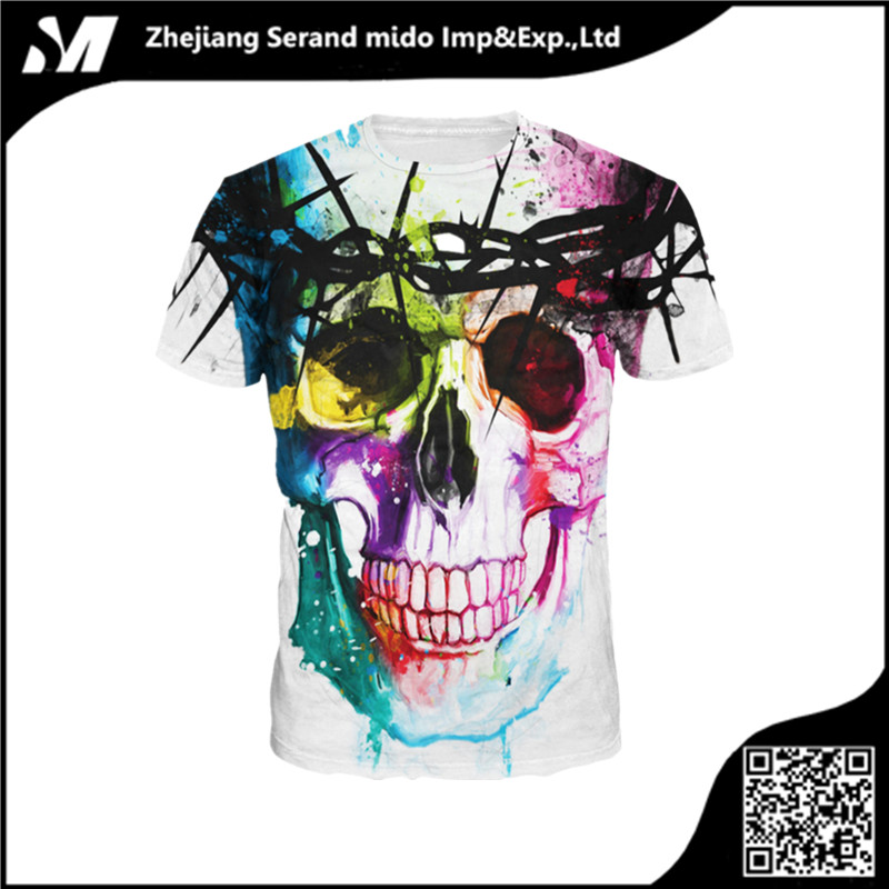 Top Quality all over sublimation printing t shirt