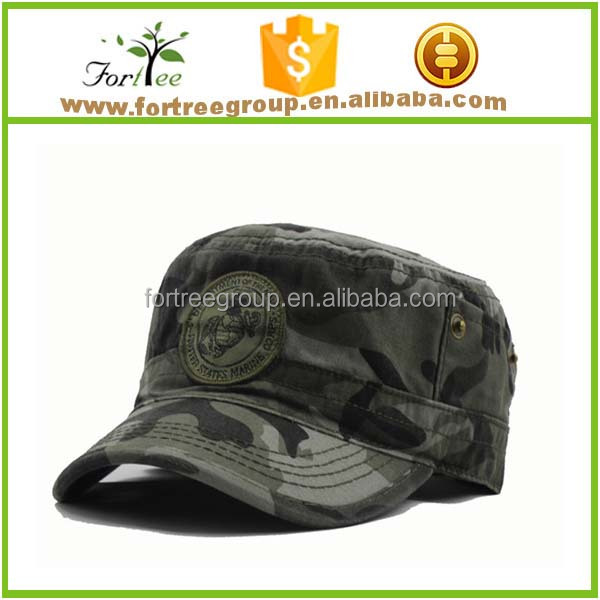 cotton baseball caps men customized military hats