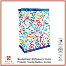 hot sale beautiful design paper bag for gift