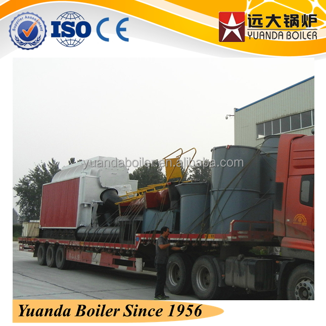 palm oil kernel shell fired water boilers for hot water or heating with all auxiliary equipments &drawings
