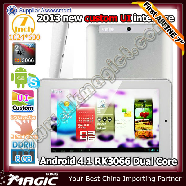 New coming! FINE 7 AIR android 4.1 china tab pc