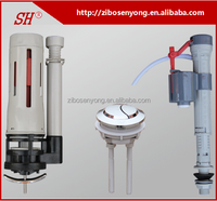 high quality water saving plastic dual flush toilet water tank fittings