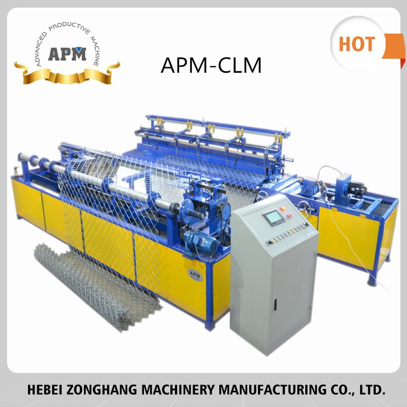 APM Chain Link Fence Making Machine with good quality