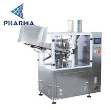Pharma full automatic plastic or soft tube filling and sealing machine