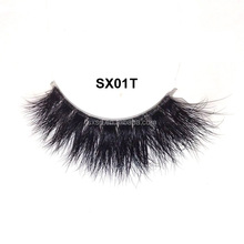 Luxury Silk lashes Synthetic 3D false eyelashes