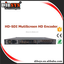 Mulltiple Codec,Protocol,Bitrate,Resolution, Profile per channel iptv encoder with 4 hd-sdi input