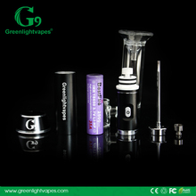 Wholesale price authentic Greenlightvapes G9 henail ceramic nail vape pen bubbler
