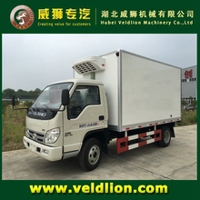 Foton 4X2 Mini Refrigerated Van Trucks for Sale Capacity 4 Tons