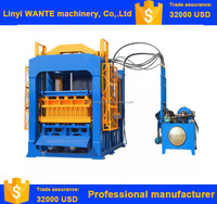 QT6-15 manual hollow block machine for sale