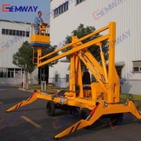 10.5m Hydraulic truck-mounted man lift