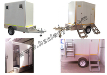 Kit camper trailer, Portable Toilet, Movable trailer Toilet container toilets