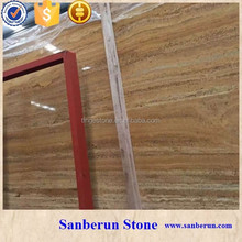 Turkish Golden travertine Slab For Sale