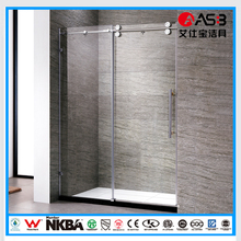 new product home 8mm Tempered Glass 2 fold bath screen