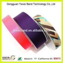 New Design PMS/TPX matched printing custom polyester webbing with price