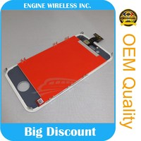 100% original lcd screen and digitizer assembly for screen for iphone4s and digitizer assembly for screen for iphone4s