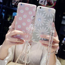Studded Bling Diamond For iPhone 6 Phone Case, For Soft Silicon iPhone 6 Plus Cell Phone Case