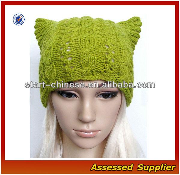Nbh056/sombrerode/ gorros para las señoras de moda gato oreja ...