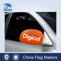 custom car mirror flag , mirror sock