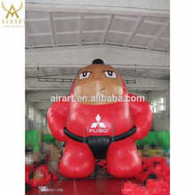 giant inflatable Sumo wrestlers