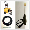 JZ616 plastic material and car cleaning machine