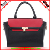 Classic women leather bag tote bag briefcase