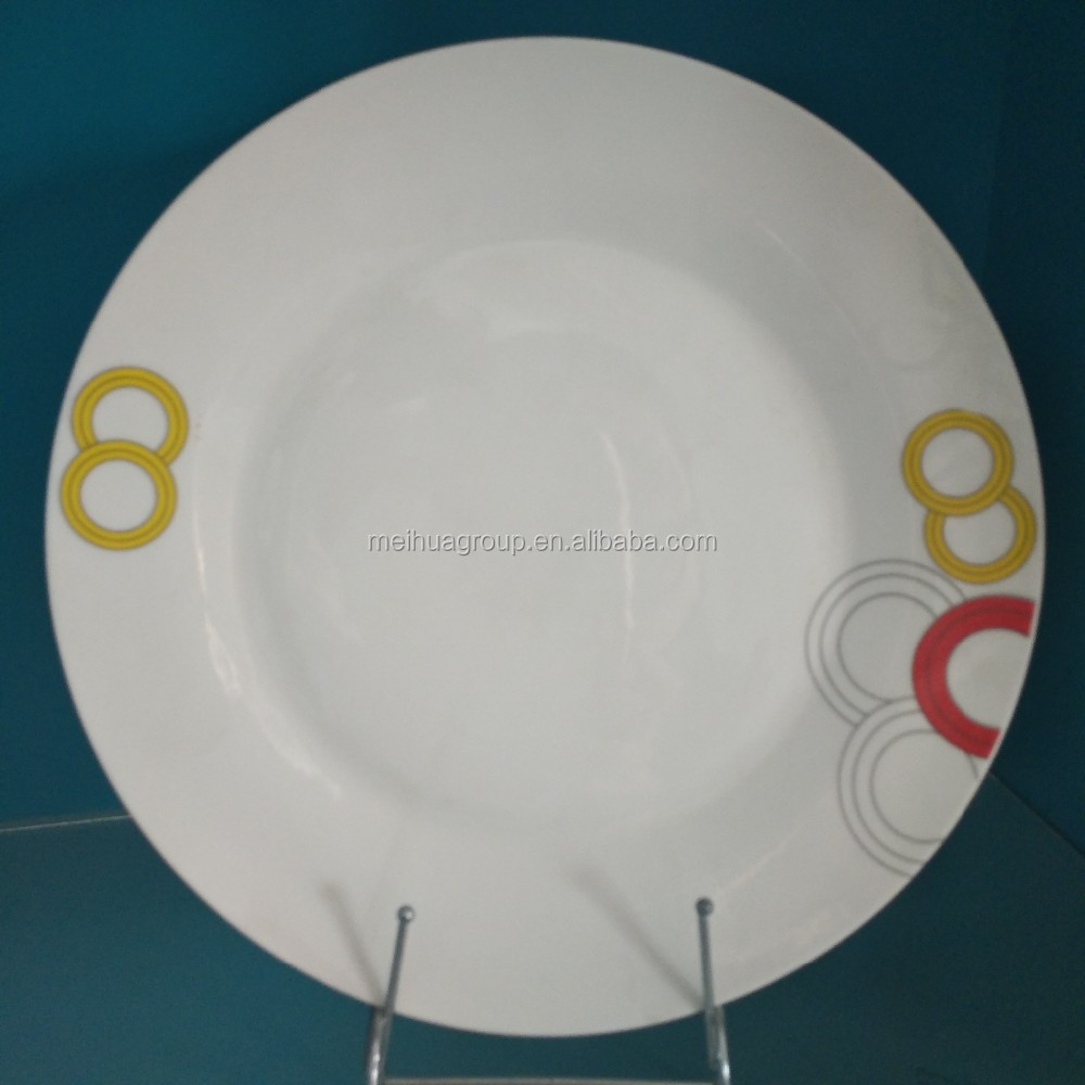 China cheap price soup mug and plate set