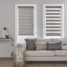 Zebra Roller Blinds / Elegance Double Roller Shades