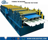 CE Approved PLC Control Hydraulic Glazed Iron GI PPGI Double Layer IBR Plate Cold Roll Forming Machine