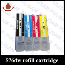 Refillable ink cartridge for hp 970 / 971, suitable for HP officejet PRO x451 x551 x576