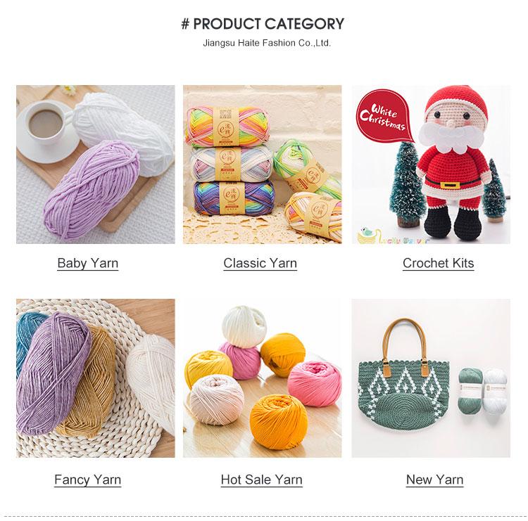 Chine fournisseur 100% acrylique roving ruban fil pour tapis et tapis