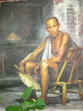 Oil Painting ( the elderly in rural areas)