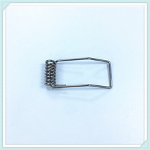 spring steel spring clip for downlight with nickle plating