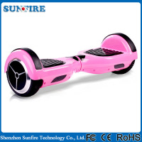 Factory price 2 wheel mobility pink self balancing scooter in guangdong