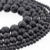 8mm Black Lava beads Natural Stone Volcanic Rock Top Quality Round Loose Beads For Jewelry Making