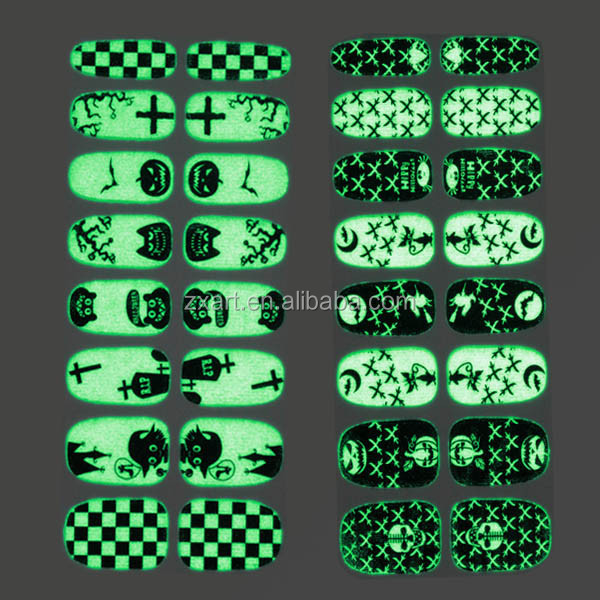 Holiday Decorative Plastic Wrap Nail Remover Nail Wraps