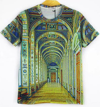 OEM Customized Short Sleeve Digital Dye Sublimated T Shirt ,Polyester Fashion Full Sublimation 3d T-Shirt Printing