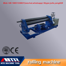 MTR hydraulic spiral sheet plate rolling machine for W11-8*2500