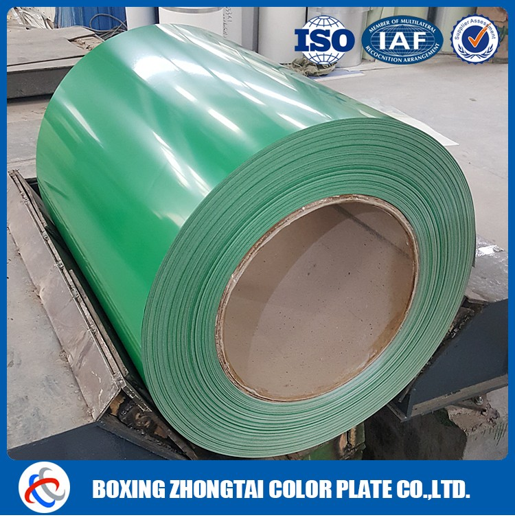 Prepainted Galvanised Steel Coil/PPGI/Corrugated Roofing Sheet color coated aluminum zinc metal