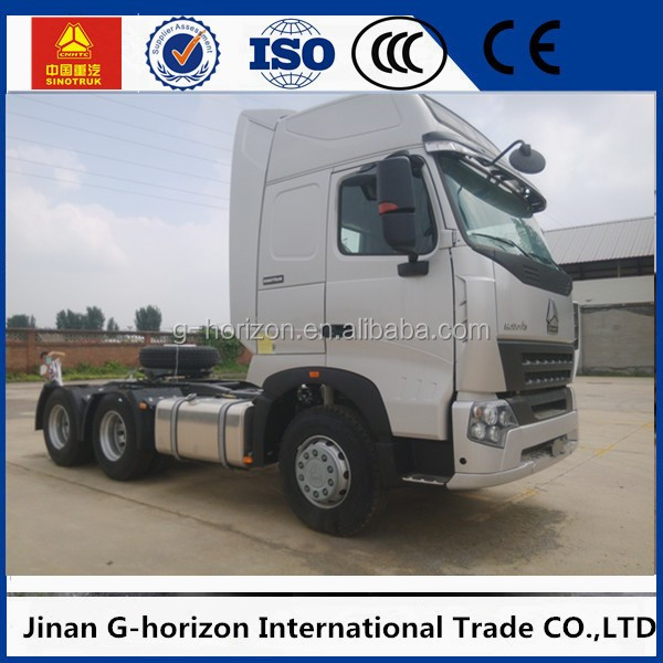 China factory hot 371hp 6*4 10 wheeler truck head howo heavy duty cheap sinotruck tractor truck for sale