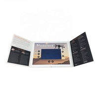 Cote Video Player With 7 Inch TFT LCD Video Screen/Video Brochure Card
