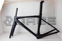SGS tested telai bici carbonio road bike used 700C wheel size 3K Matte race frame carbon