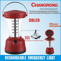 rechargeable led camping light portable solar lantern emergency