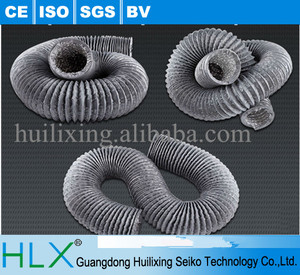 Fabric duct hose for equipment accembly line / air pipe with smoking cover make in China