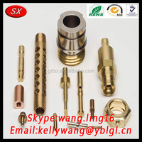 factory direct producing oem contact pin spring contact pin brass contactor pin