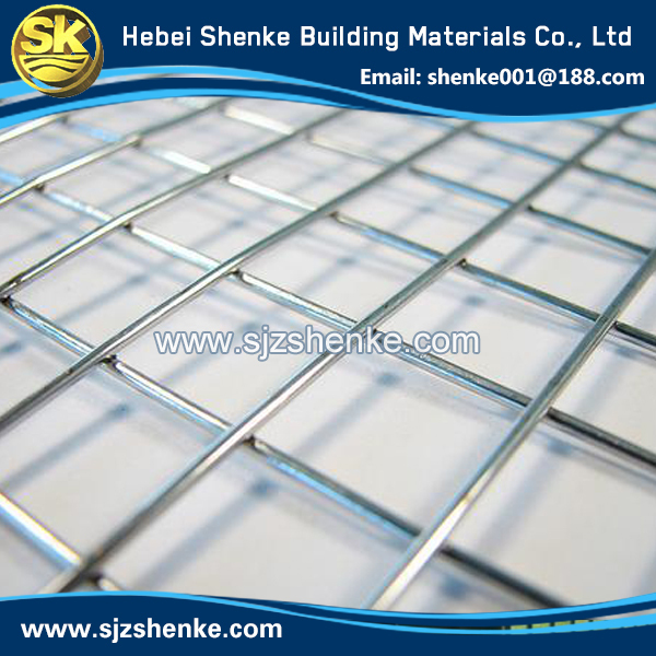 low carbon steel wire powder coated wire mesh fence