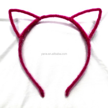 Hair accessories collection hand made funny best halloween cat ear headband