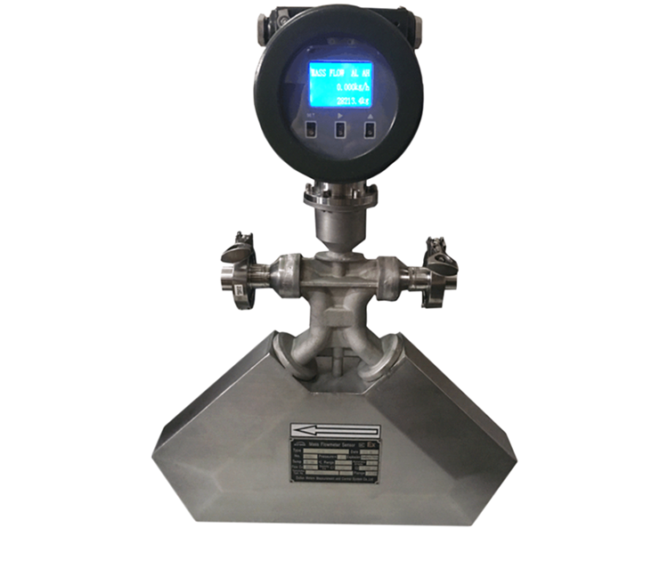 High Performance High Accuracy RS485 Liquid Helium Coriolis Mass Flow Meter