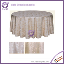 #19861 wholesale cheap beige tablecloths for wedding party wedding table linens